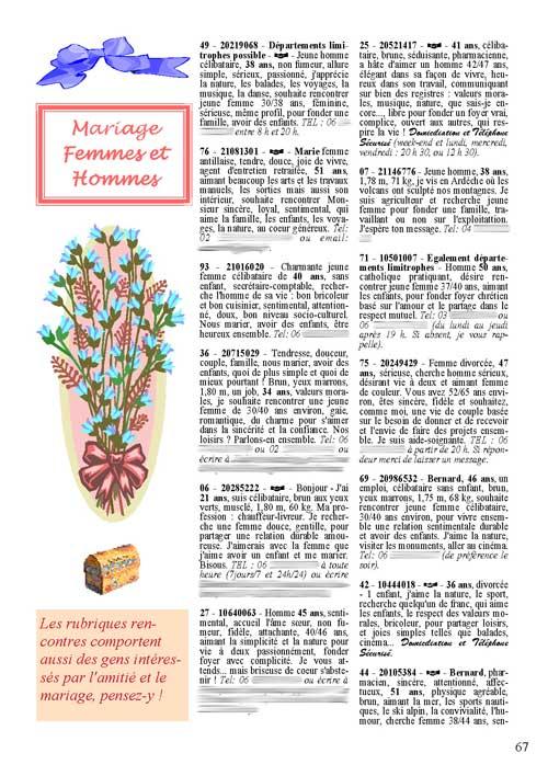 Point rencontres magazine avis